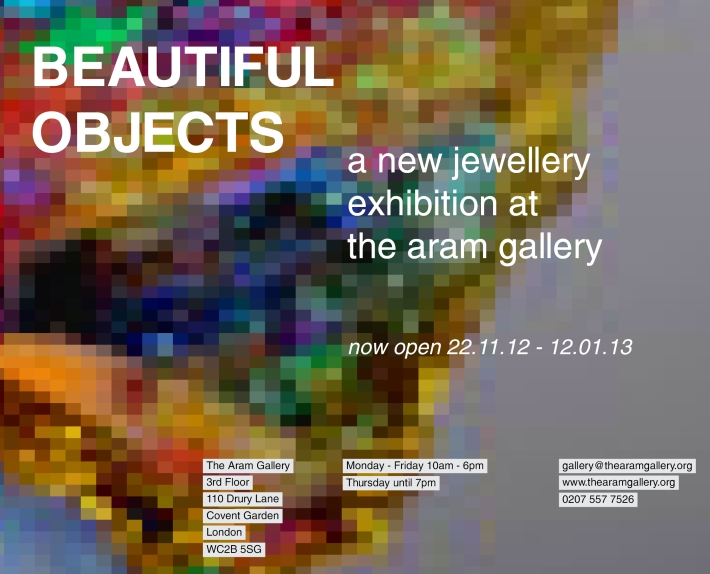 Invite to Aram Gallery